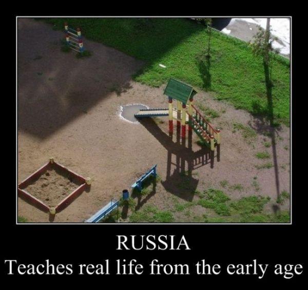 Best Russian demotivational posters (60 pics)