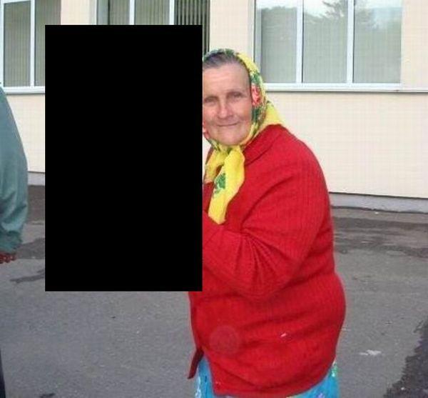 Severe grandma (3 pics)