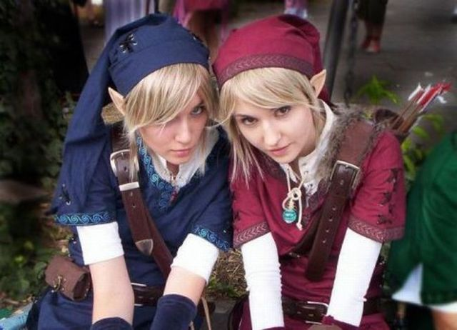 Link from The Legend of Zelda (24 pics)