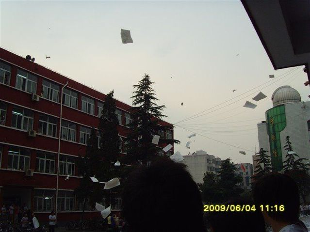 Crazy decompression before the college entrance examination (6 pics+1 video)