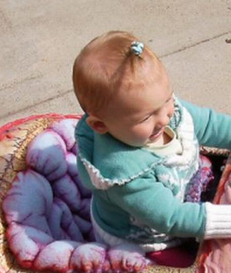 The most frightening child car ever (2 pics)