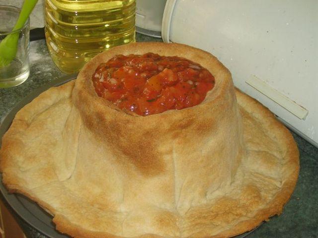 How to make a nacho hat? (8 pics)