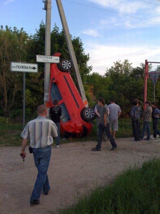 Interesting accident (2 pics)