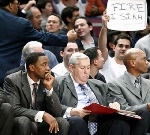 Funny sports signs (19 pics)