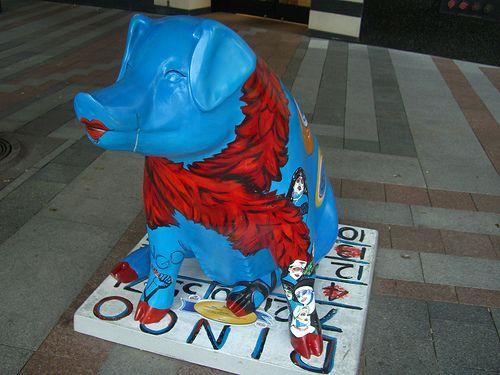 Pigs' invasion (69 pics)