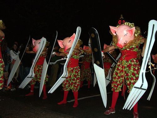 Pigs' invasion (69 pics)