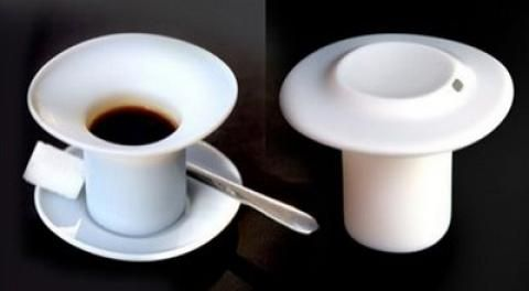 Creative cups and salt & pepper shakers (31 pics)