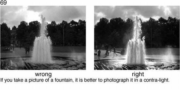 Learn to take pictures correctly (78 examples)