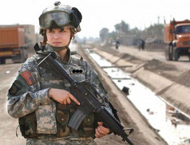 Beautiful half of the U.S. Army (38 pics)