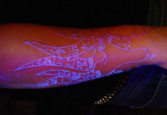 Ultra Violet Tattoos (7 pics)