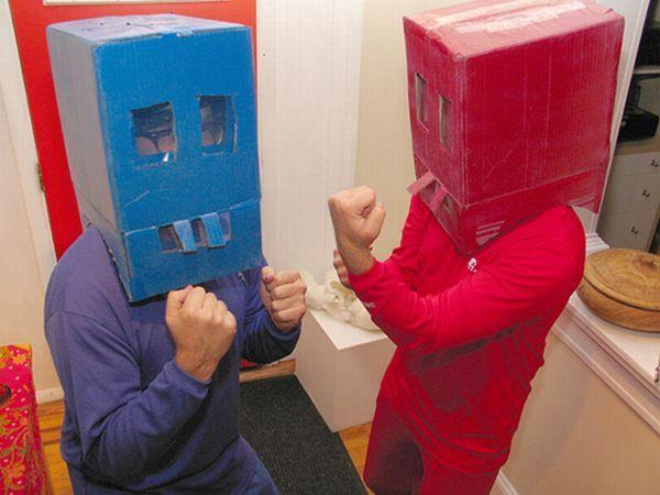 Most unsuccessful robot costumes (15 pics)