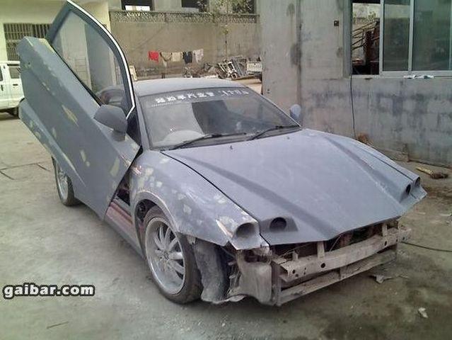 Chinese supercar (11 pics)