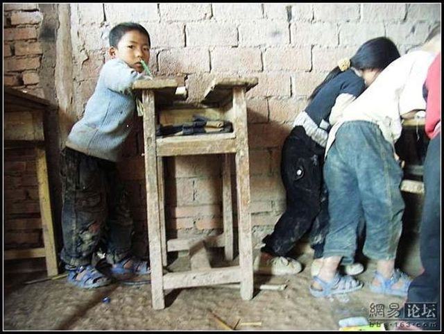 Village school in China. Part 2 (21 pics)