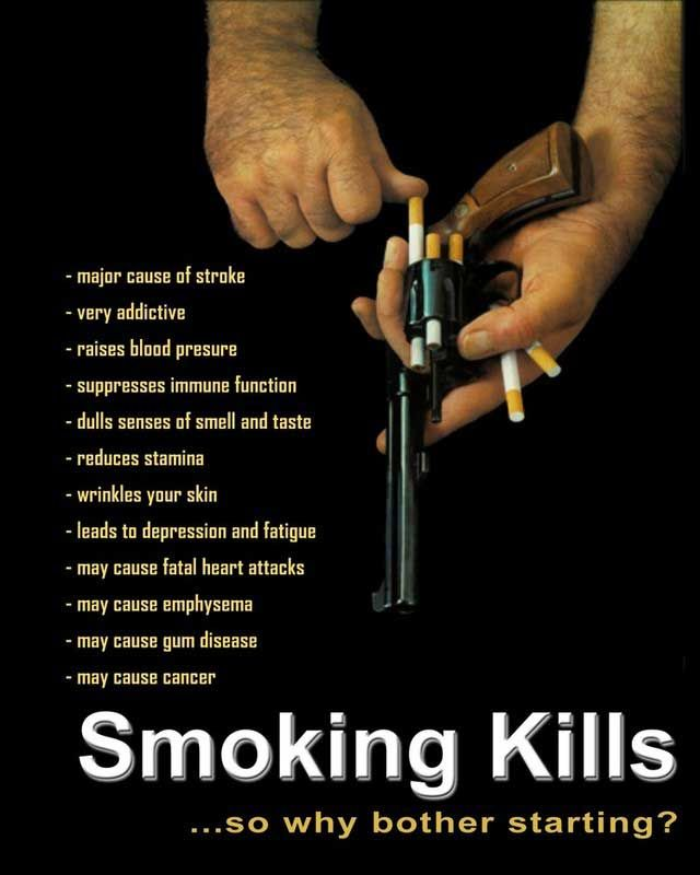 Worldwide anti-tobacco advertisement (32 pics)