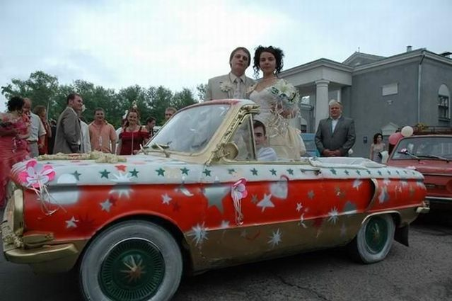The most unusual weddings ever (62 pics)
