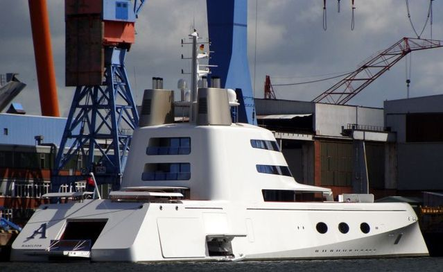 Super yacht - project name Sigma (20 pics)