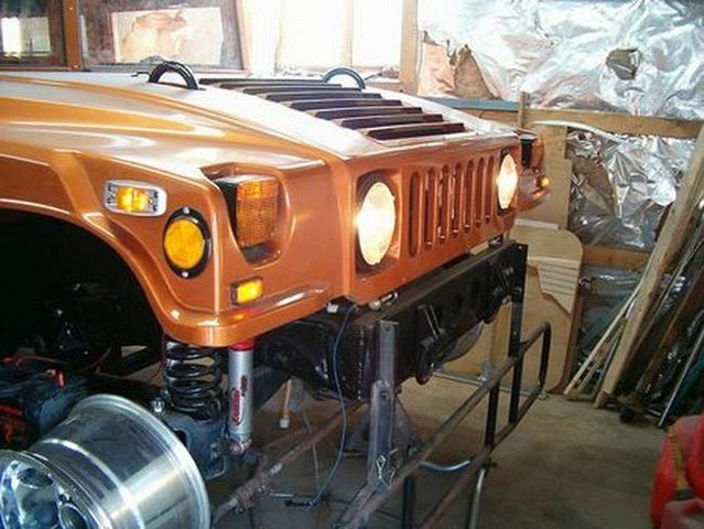 Make a Hummer yourself ... (10 pics)