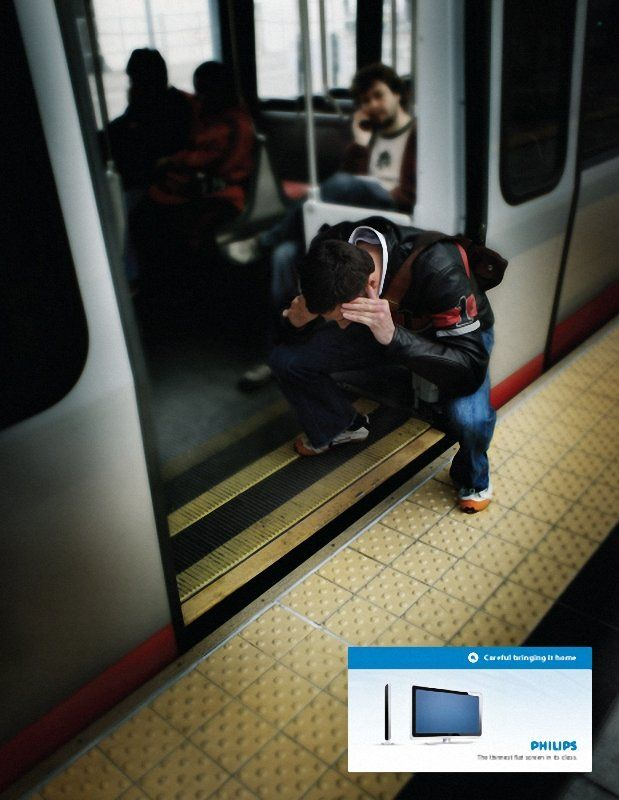 Funny creative Phillips ad (3 pics)