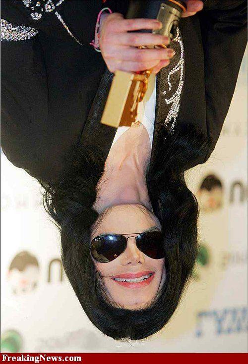 Upside down celebrities (59 pics)