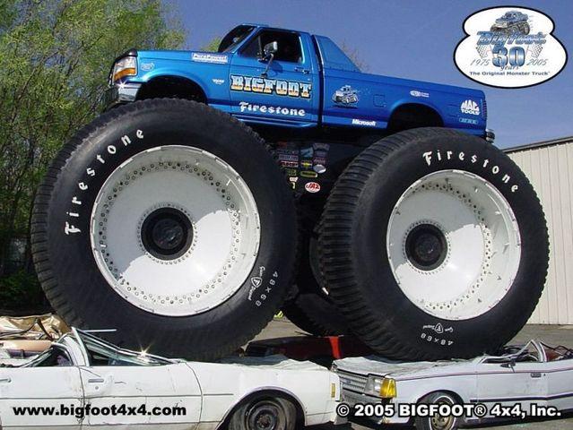 Giants on wheels (32 pics)