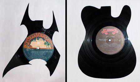 Art with vinyl records (14 pics)