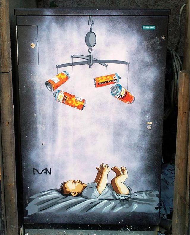 Best street art from Bristol (38 pics)