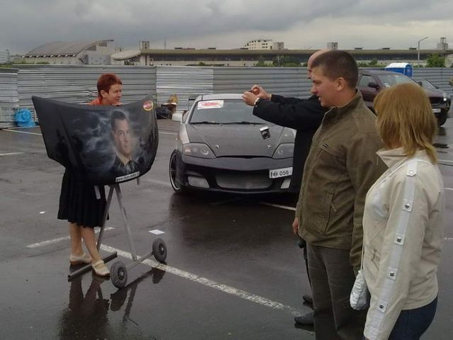 The annual Aerograph festival of painting on cars in Moscow - 2009 edition