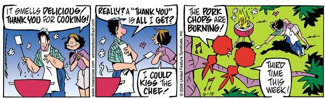 Funny comic stripes