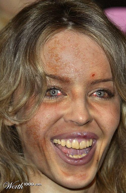 Scary celebrities (51 pics)