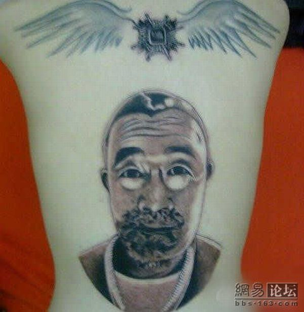 Unusual tattoo (8 pics)