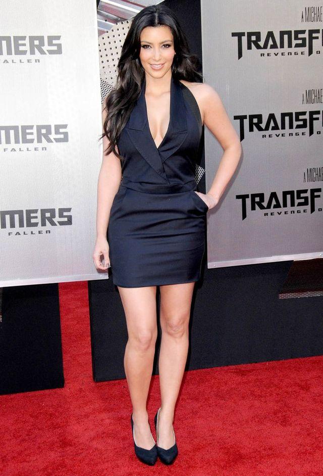 Kim Kardashian at the premiere of Transformers: Revenge of the Fallen (9 pics)