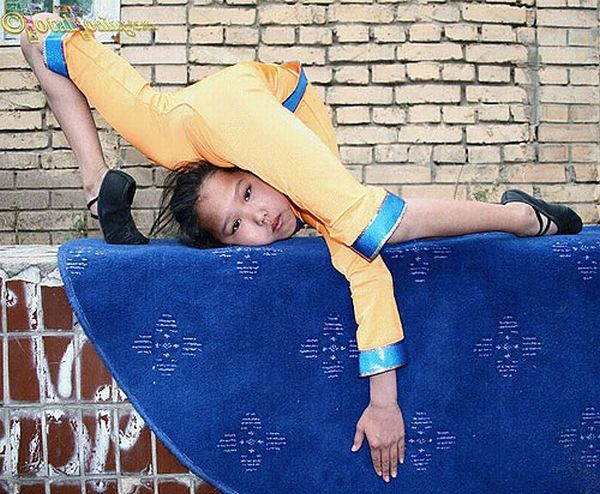 Future Chinese gymnasts (38 pics)