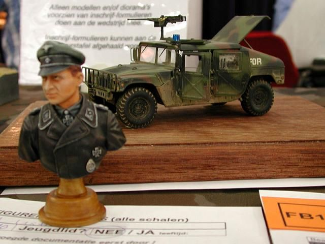 Models of military technology and equipment from the WWII (63 pics)