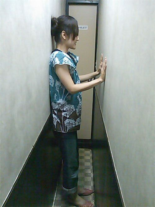 The narrowest toilet in the world (2 pics)