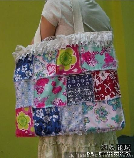 How to make a laptop bag with pieces of fabric (12 pics)