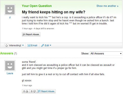 Funny Yahoo questions and answers (58 stories) Izismile.com Questions And Answers Funny