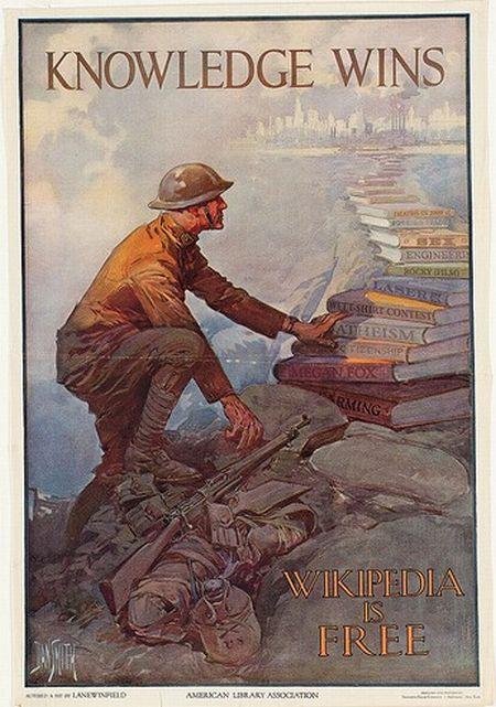 WWIII propaganda posters (8 pics)