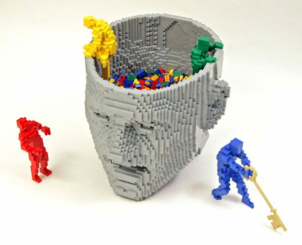 The Art of Brick by Nathan Sawaya (27 pics)