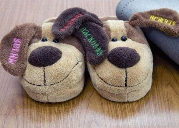 Collection of cute slippers (12 pics)