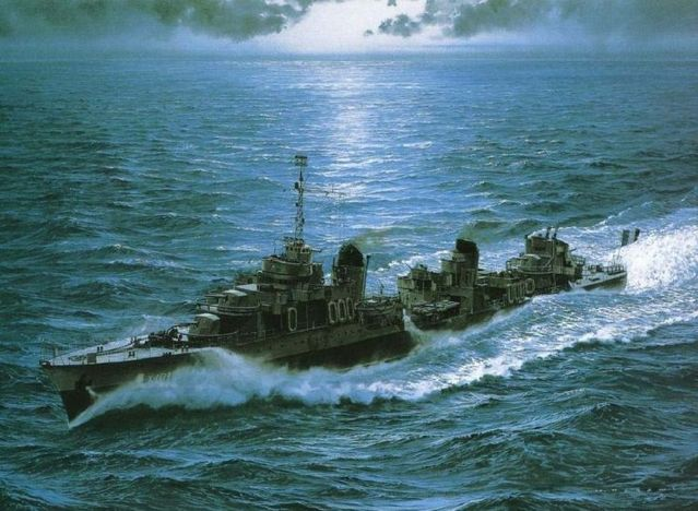 Amazing pictures of warships (17 pics)