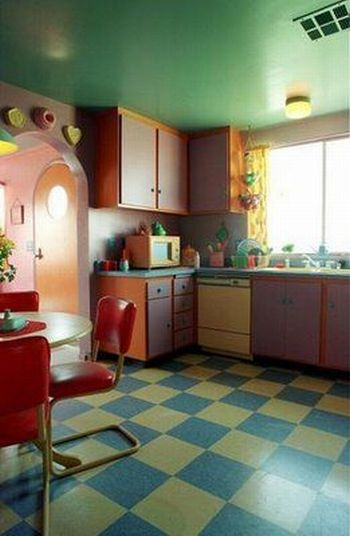 The house of the Simpsons, the Flintstones and Hello Kitty… but in real! (9 pics)