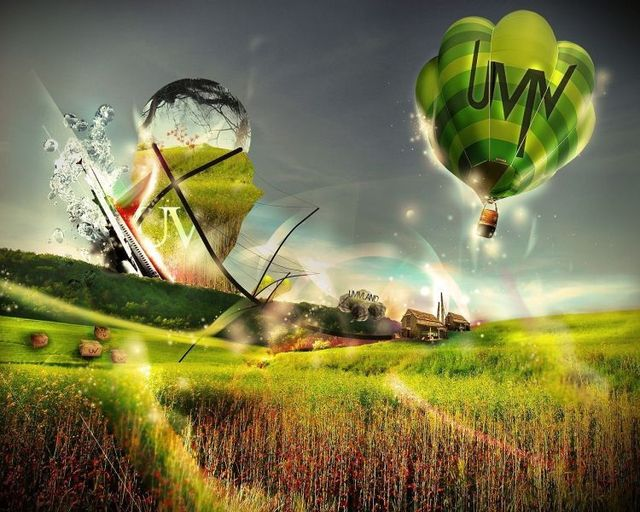 Nice selection of 3D wallpapers (45 pics)