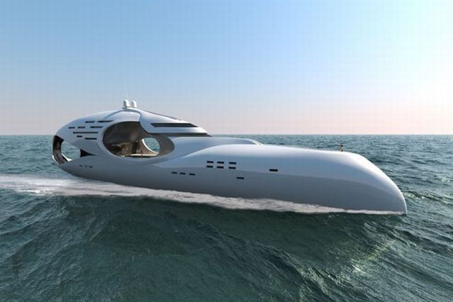 Yachts of the future (21 pics)