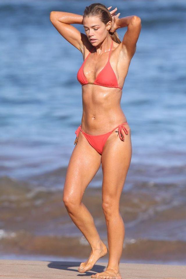Denise richards beach