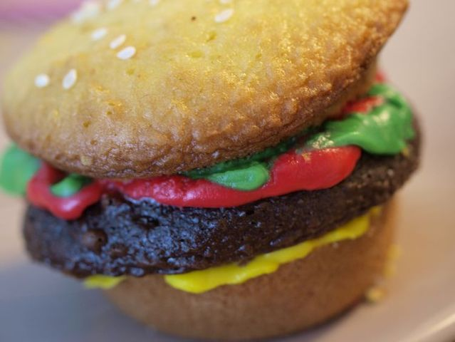 Secrets of cooking the cheeseburger cupcakes (34 pics)