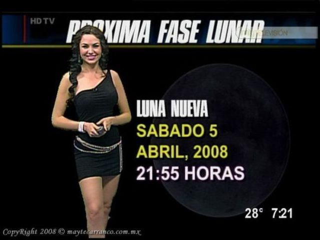 Stunning weather woman Mayte Carranco (23 pics + 1 video)