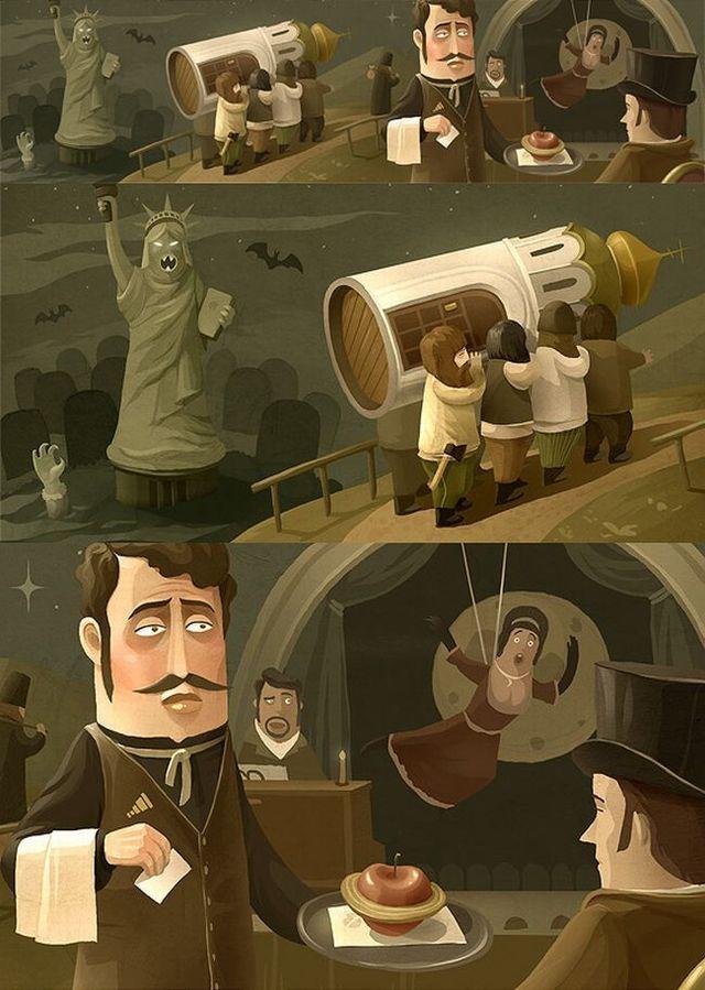 Beautiful illustrations (22 pics)