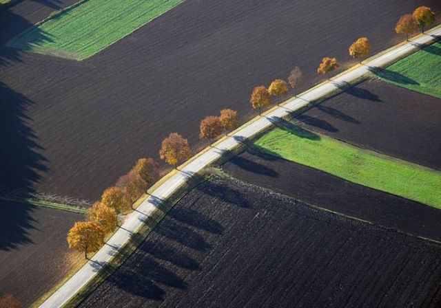 Beautiful photos taken from the sky (81 pics)