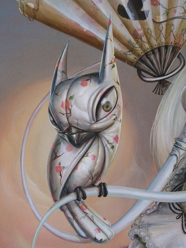 Live painting exhibition of Greg Simkins aka Craola at Gallery 1988 in LA (11 pics)