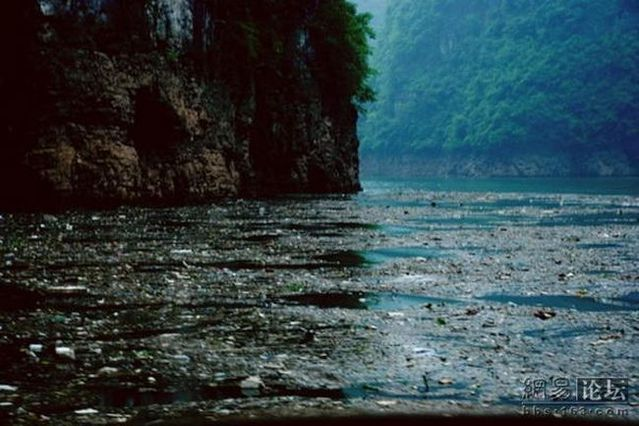 The pure waters of one Chinese river (8 pics)
